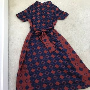 Ace and Jig Neptune Copper Margaret Dress